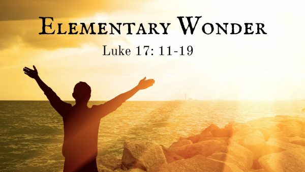 Elementary Wonder Traditional Service Image
