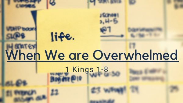 When we are Overwhelmed Image